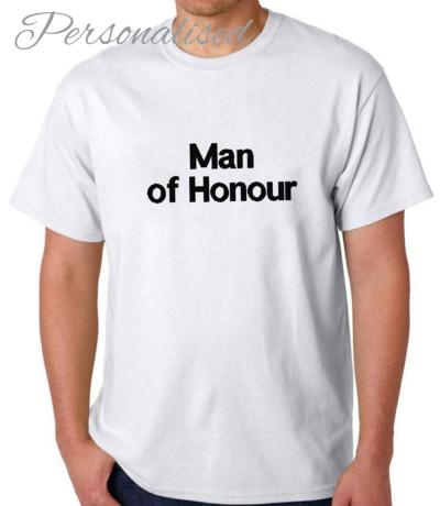 man of honour t-shirt