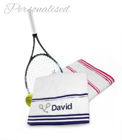 Personalised Tennis Towels