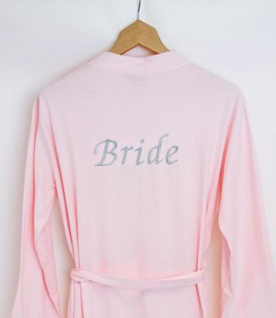 wedding dressing gowns with names