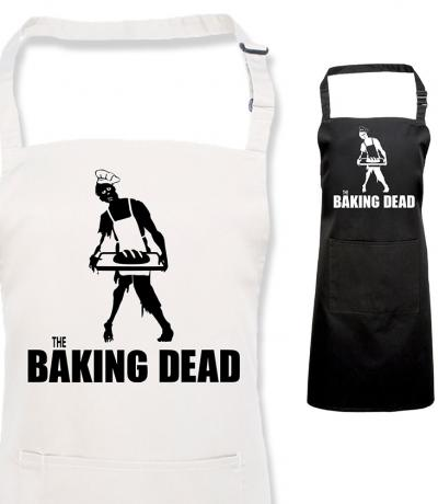 Printed Baking Dead Apron, Fan of The Walking Dead