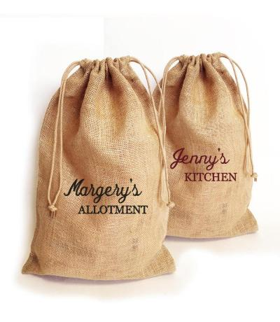 personalised kitchen sacks