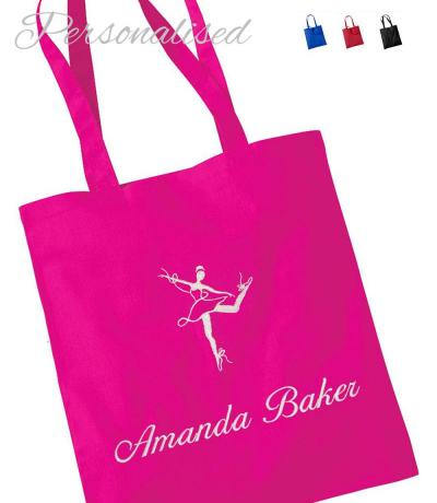 Personalised Ballet Tote Bag