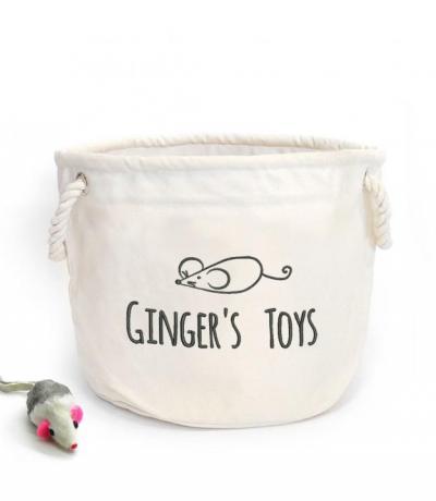 cat toys basket