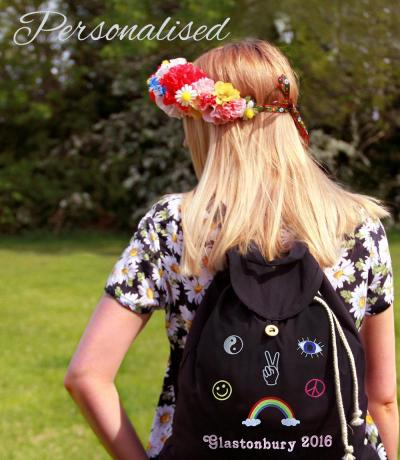 Festival Hippie Boho Backpack Bag