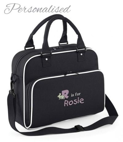 personalised nappy changing bag