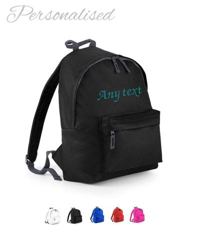 Personalised Rucksack, Backpack