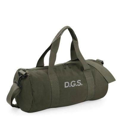 Personalised Military Green Duffel Bag