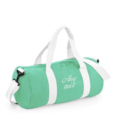 Mint Green Gym Bag