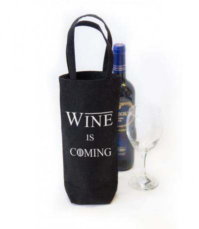 wine is coming, game of thrones gift