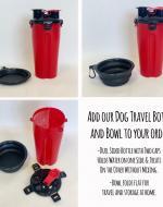 Dog Bowl & Bottle