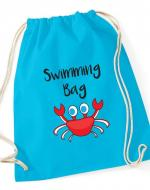 Kids drawstring swimming bag