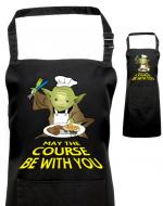Printed Yoda Apron, Fan of Star Wars