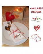 Valentine's napkins