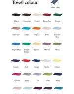 Towel Colour Chart