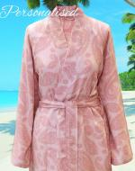 Pink Summer / Beach Peshtemal Dressing Gown Bathrobe