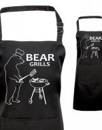 Printed Bear Grills Apron, Fan of Bear Grylls