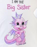 big sister top with dragon