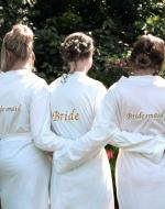 Personalised Bride Dressing Gown