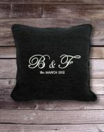Personalised Cushion with Initials