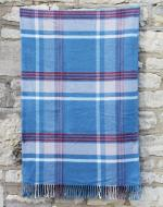Blue & Red Check Blanket