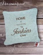 personalised cushions, housewarming gift