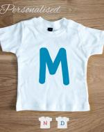 initial baby t-shirt