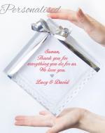 personalised handkerchief wedding