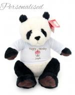 Personalised Soft Toy Banjo The Panda