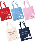 Personalised Embroidered Tote Bag