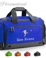 Personalised Embroidered Rugby Holdall Bag